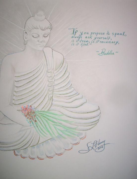 Buddha - S.L. Henry, Artist