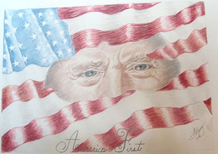 America First - S.L. Henry, Artist