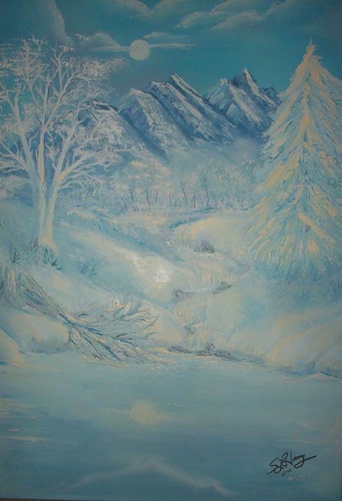 Winter Pond - S.L. Henry, Artist