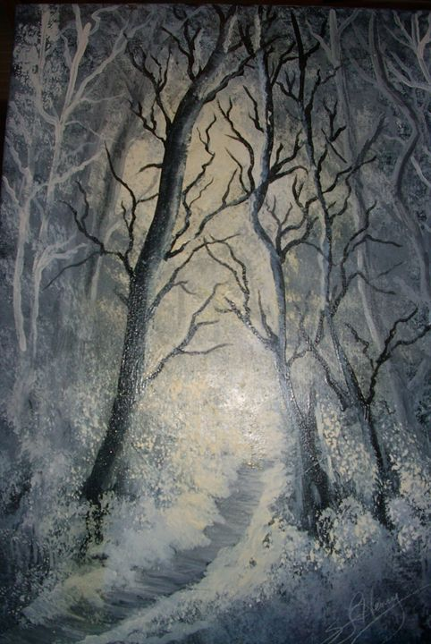 Winter Woods - S.L. Henry, Artist