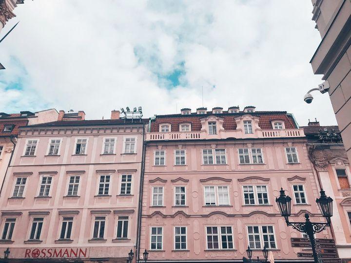 Pink in Prague - Lauren Hidalgo