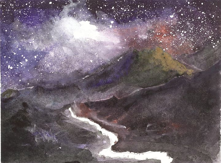 Starry night - Art Edin S