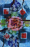 Original Silkscreen Monoprint on pap