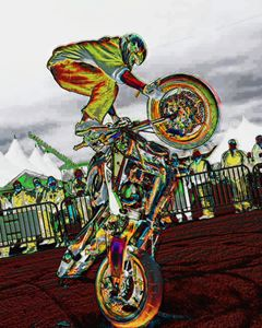 Pop up wheelies - Wheelie Art by Amanda Puggle