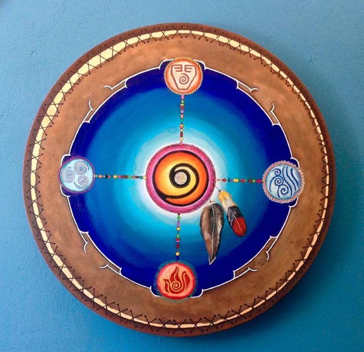 Frecuencia y Esencia de Paz - Ana Romo Art Gallery