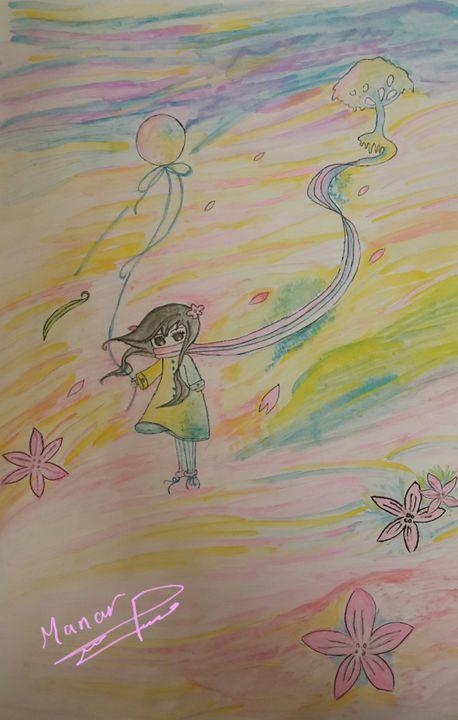Magical colors - Manar