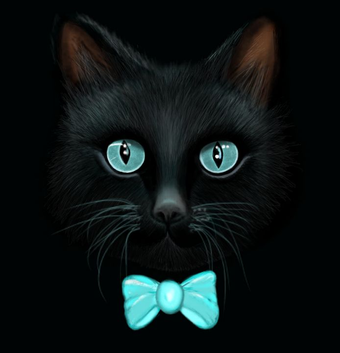 Blacky blue - Day Dreaming - Social Art