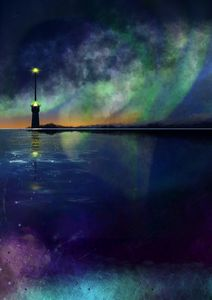 Light tower green light