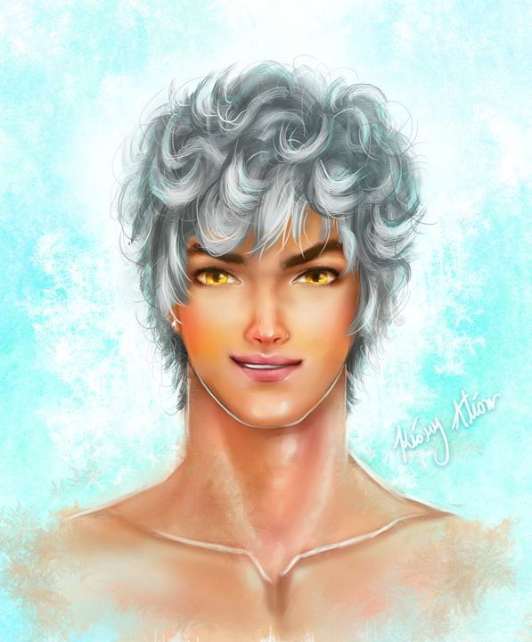 male ice portraits - Kiory Alion