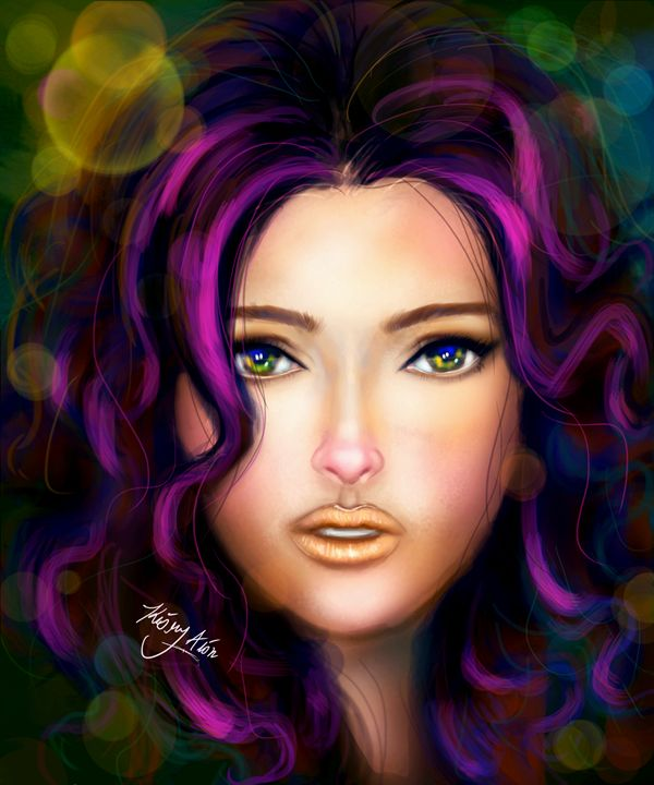 colour face - Kiory Alion