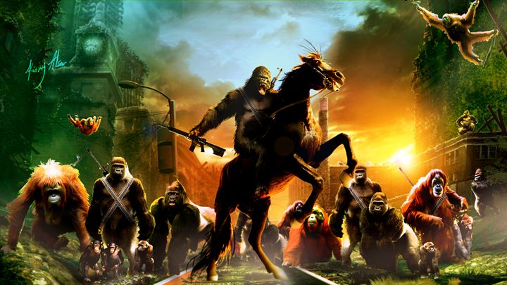 Planet of the Apes - Kiory Alion