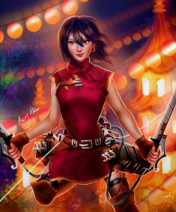 attack on titan mikasa - Kiory Alion