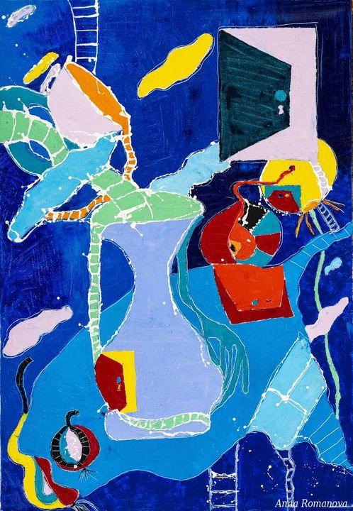 Blue Still life - AR_Gallery