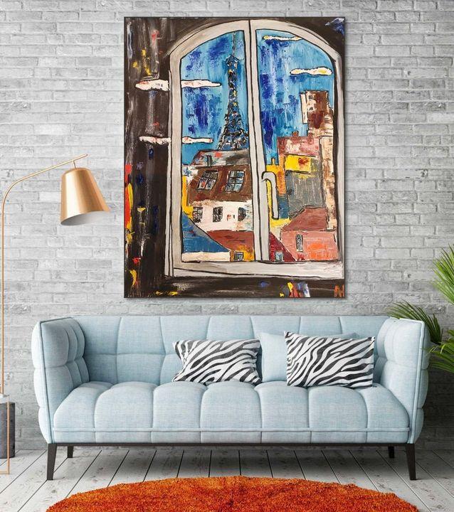 Window to Paris - AR_Gallery