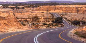 The road to Idan