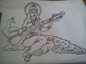 Lord Saraswati