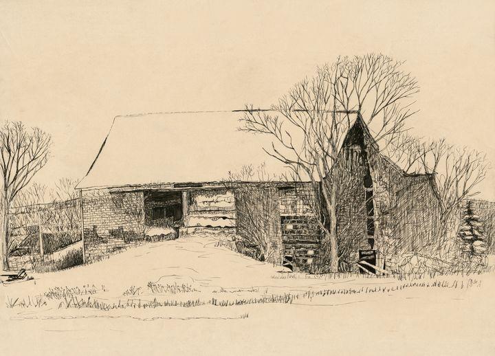 Old Barn in Belleville, NY - Thomas Contino