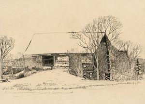 Old Barn in Belleville, NY
