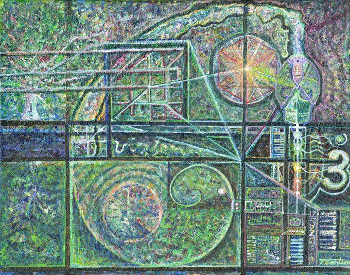 Prismatic Textile no. 3 - Thomas Contino