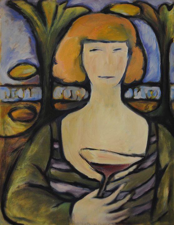 Girl from Odesa - Lu Sakhno's Art Gallery