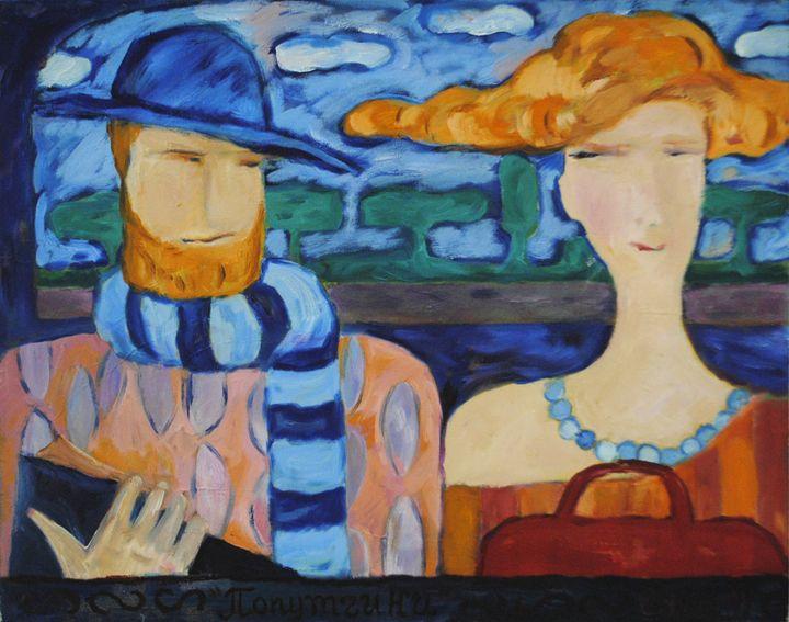 Companions - Lu Sakhno's Art Gallery