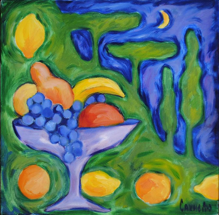 Fruits fatasy - Lu Sakhno's Art Gallery