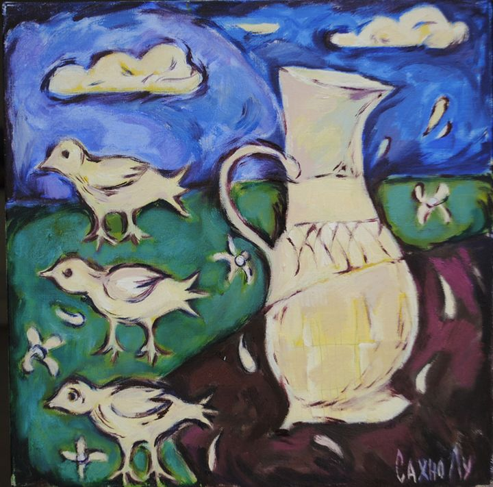 Bird's milk - Lu Sakhno's Art Gallery