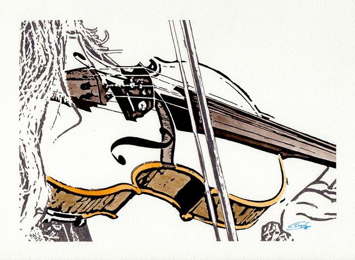 Playing the violin - Carlos Segui
