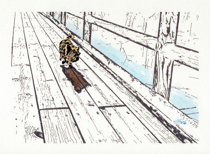 Dog walking - Carlos Segui