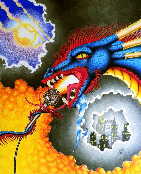 Dragons Rock - Robert Ball Fine Art & Photography