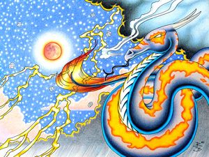Night Storm Cloud Rider