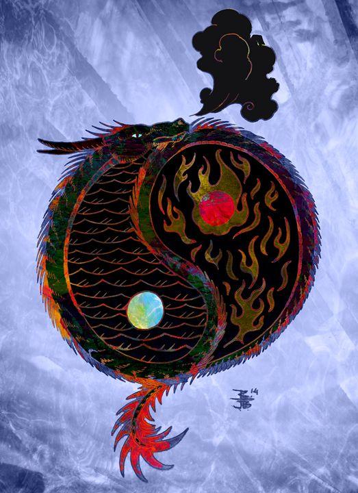 Yin and Yand Dragon - Robert Ball Fine Art & Photography
