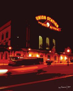 Union Train Station Denver