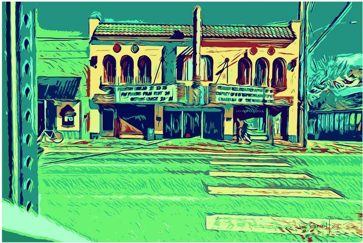 Old Movie Theatre - Jeff Petersen