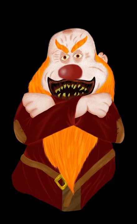 Clown Grumpy - Liu Miranda