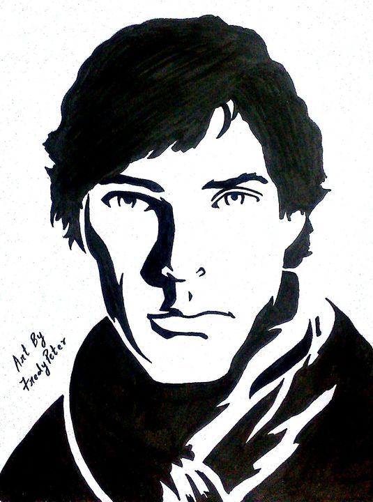 Sherlock Holmes (Benedict Cumberbat) - Fredy