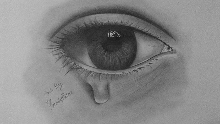 Crying Eye - Fredy