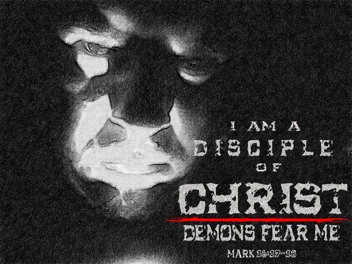 Demons Fear Me - Designs by Johnny Praize