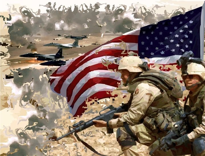 Gulf War - Designs by Johnny Praize