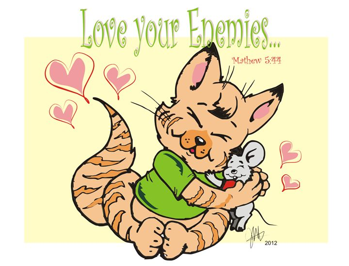 Love Your Enemies - Designs by Johnny Praize