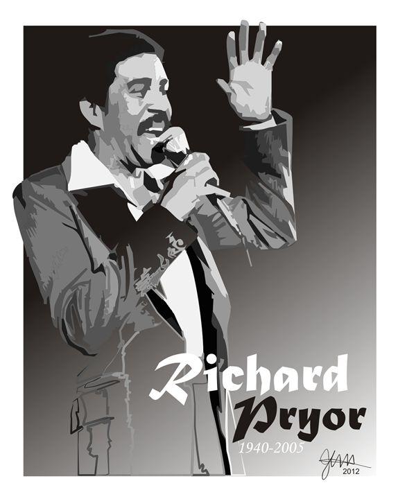 Richard Pryor - Designs by Johnny Praize