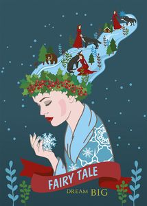 Winter story Red Riding Hood