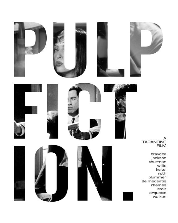 Pulp Fiction Poster - Relax, You've Found My Gallery.