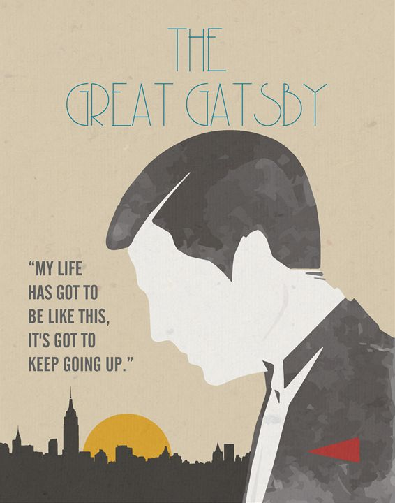 The Great Gatsby Poster - Relax, You've Found My Gallery.