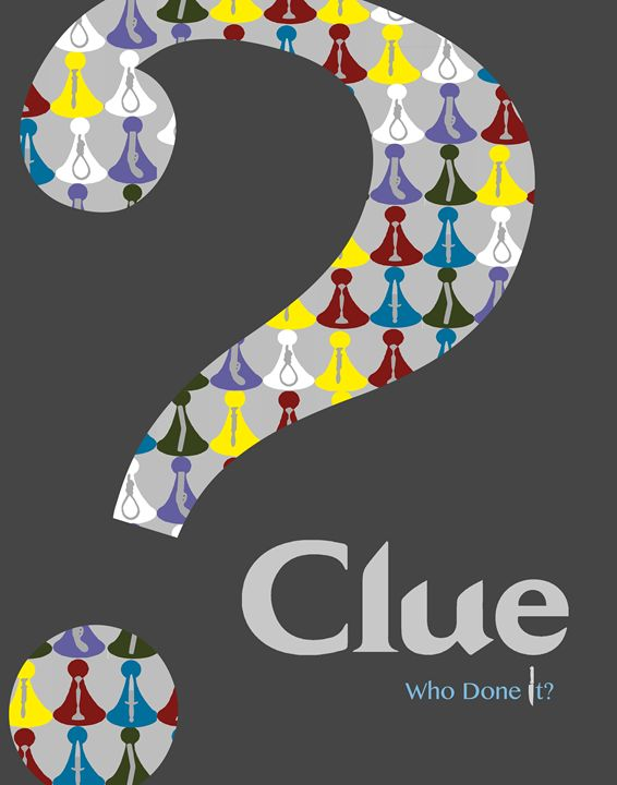 Clue Movie Poster - Relax, You've Found My Gallery.