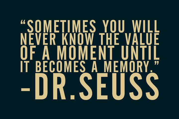 Dr. Seuss Quote - Relax, You've Found My Gallery.