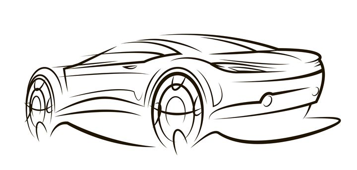Sketch car - Egor Fantasov