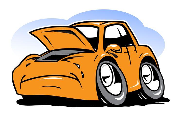 Cartoon car - Egor Fantasov