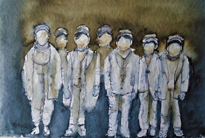 Irish Ghosts - Machale O'Neill