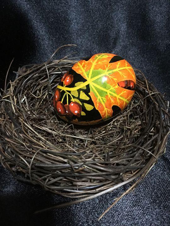 Autumn 1 - Pysanky by Fiona